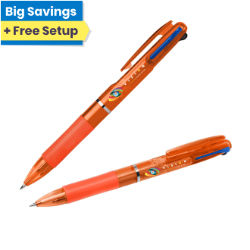 Customized Britebrand™ Task Master 3-Ink Pen
