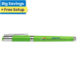 Customized Britebrand™ Bright Newport Gelebration™ Gel Pen