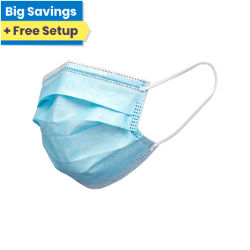 Customized Blank Disposable 3-Layer Non-Surgical Face Mask
