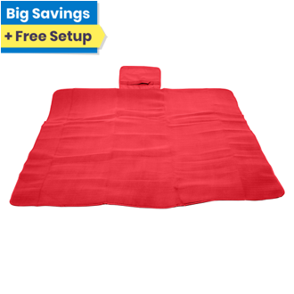 Customized Water Resistant Fleece Picnic Blanket