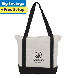 Customized Heavy Cotton 12 oz Tote Bag with Pocket