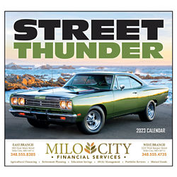 Customized Wall Calendar Street Thunder