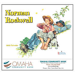 Customized Wall Calendar Norman Rockwell Wonderful World