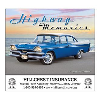 Customized Wall Calendar Highway Memories