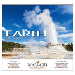 Customized Wall Calendar Earth