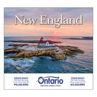 Customized Wall Calendar New England