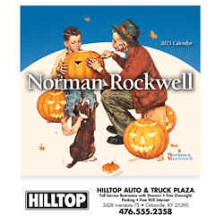 Customized Mini Norman Rockwell Calendar