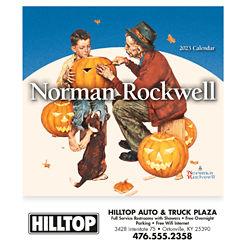 Customized Mini Norman Rockwell Calendar