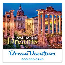 Customized Mini Destination Dreams Calendar