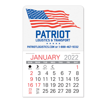Customized Value Stick Calendar - Patriotic