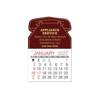 Customized Value Stick Calendar - Phone