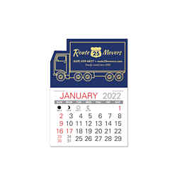 Customized Value Stick Calendar - Truck