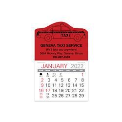 Customized Value Stick Calendar - Taxi