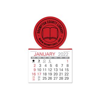 Customized Value Stick Calendar - Circle