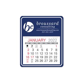 Customized Universal Easy Stick- Calendar