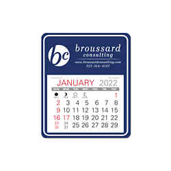Customized Universal Easy Stick- Calendar