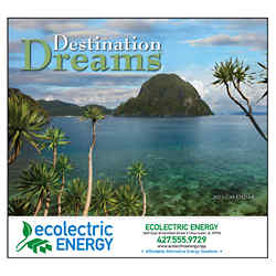 Customized Wall Calendar Destination Dreams