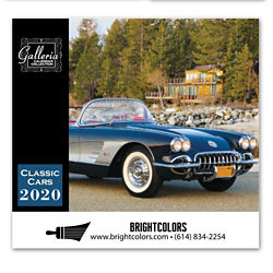 Customized Magnus Calendars - Classic Cars
