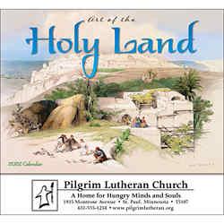 Customized Wall Calendar Art of the Holy Land-Universal