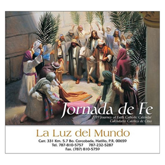 Customized Wall Calendar Jornanda de Fe