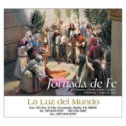 Customized Wall Calendar Jornada de Fe