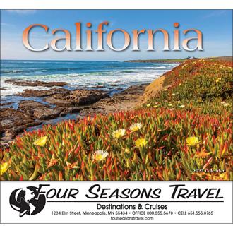 Customized Wall Calendar California