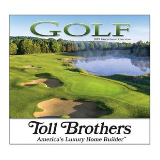 Customized Wall Calendar Golf