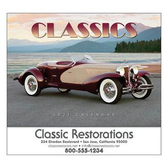 Customized Wall Calendar Automotive Classics