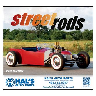 Customized Wall Calendar Street Rod Fever