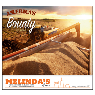 Customized Wall Calendar America's Bounty
