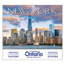 Customized Wall Calendar New York