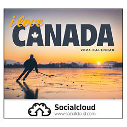 Customized Good Value® I Love Canada Calendar