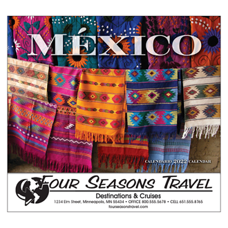 Customized Wall Calendar Mexico