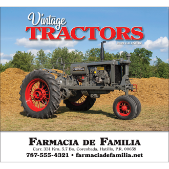 Customized Wall Calendar Legendary Tractors