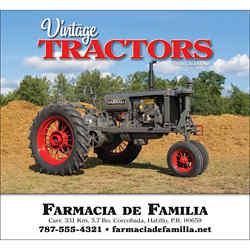 Customized Wall Calendar Legendary Tractors