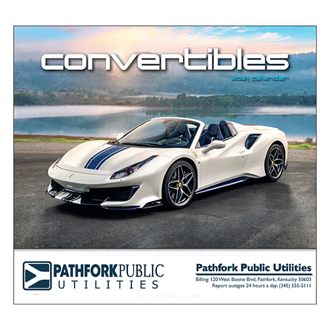 Customized Wall Calendar Convertible Cruisin