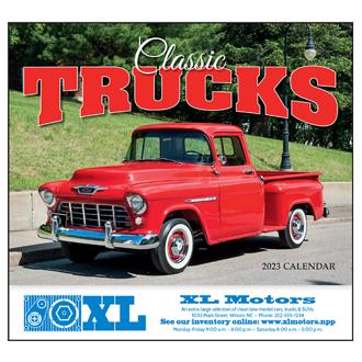 Customized Wall Calendar Classic Trucks