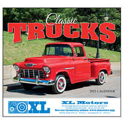 Customized Wall Calendar Classic Trucks
