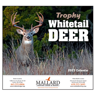 Customized Wall Calendar Trophy Whitetail Deer