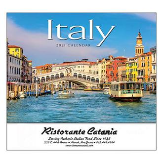 Customized Wall Calendar Italy