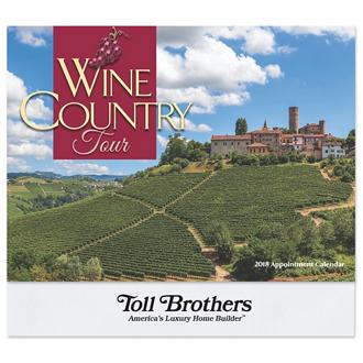 Customized Wall Calendar Wine County Tour