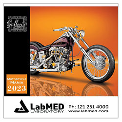 Customized Magnus Calendars - Motorcycle Mania