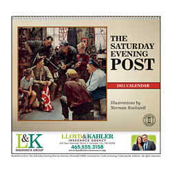 Customized Triumph® The Saturday Evening Post Appt Calendar