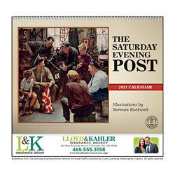 Customized Triumph® The Saturday Evening Post Appt Calendar