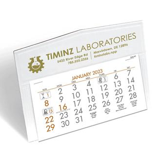 Customized Triumph® Legacy Pocket Desk Calendar