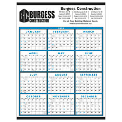 Customized Triumph® Span-A-Year Non-Laminated Calendar