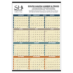 Customized Triumph® Time Management Span-A-Year Calendar