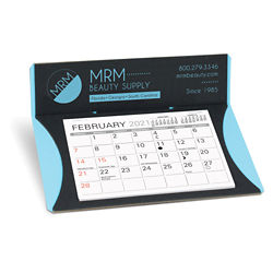 Customized Crescent Nu-Leth-R Desk Calendar