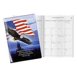 Customized Patriot Liberty Dix Classic Monthly Planner