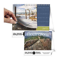 Customized Triumph Scenic Desktop Flip Calendar Destinations